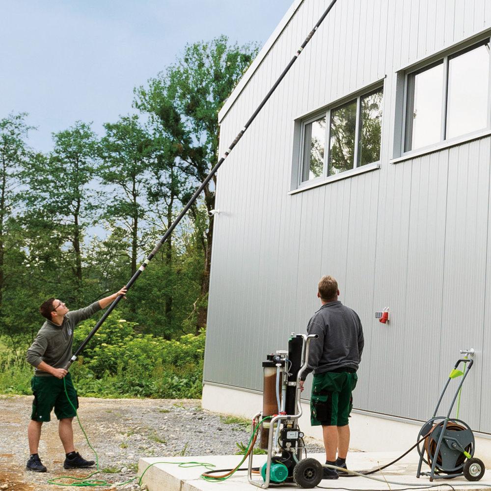 professionelle Fassadenreinigung - Werterhalt Ihrer Immobilie