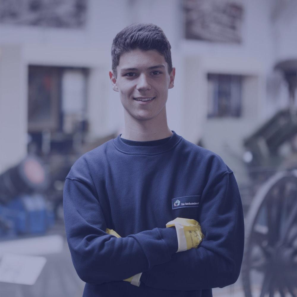 Mitarbeiter werden bei Gebäudereinigung D. Weber GmbH & Co. KG