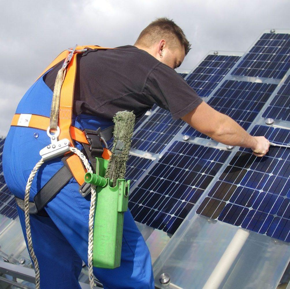 Solar & PV Anlagen Reinigung